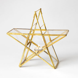 Standing Star Tealight Holder