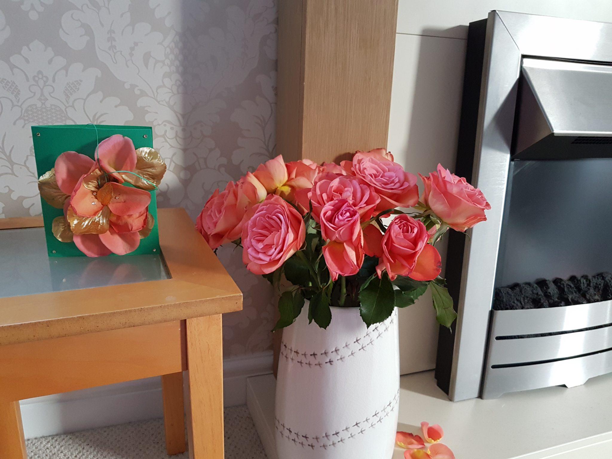 rose petal craft