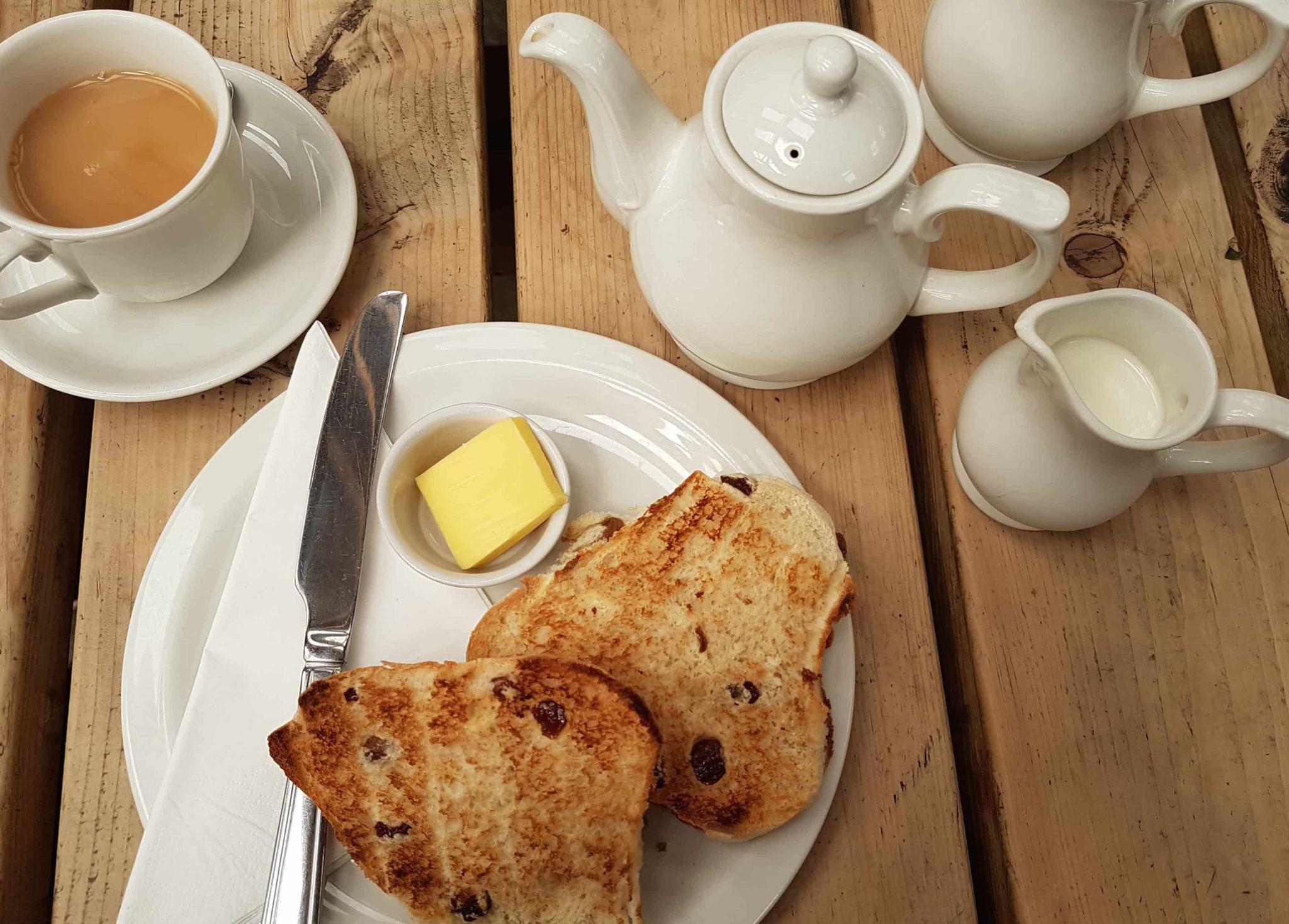 toasted teacake