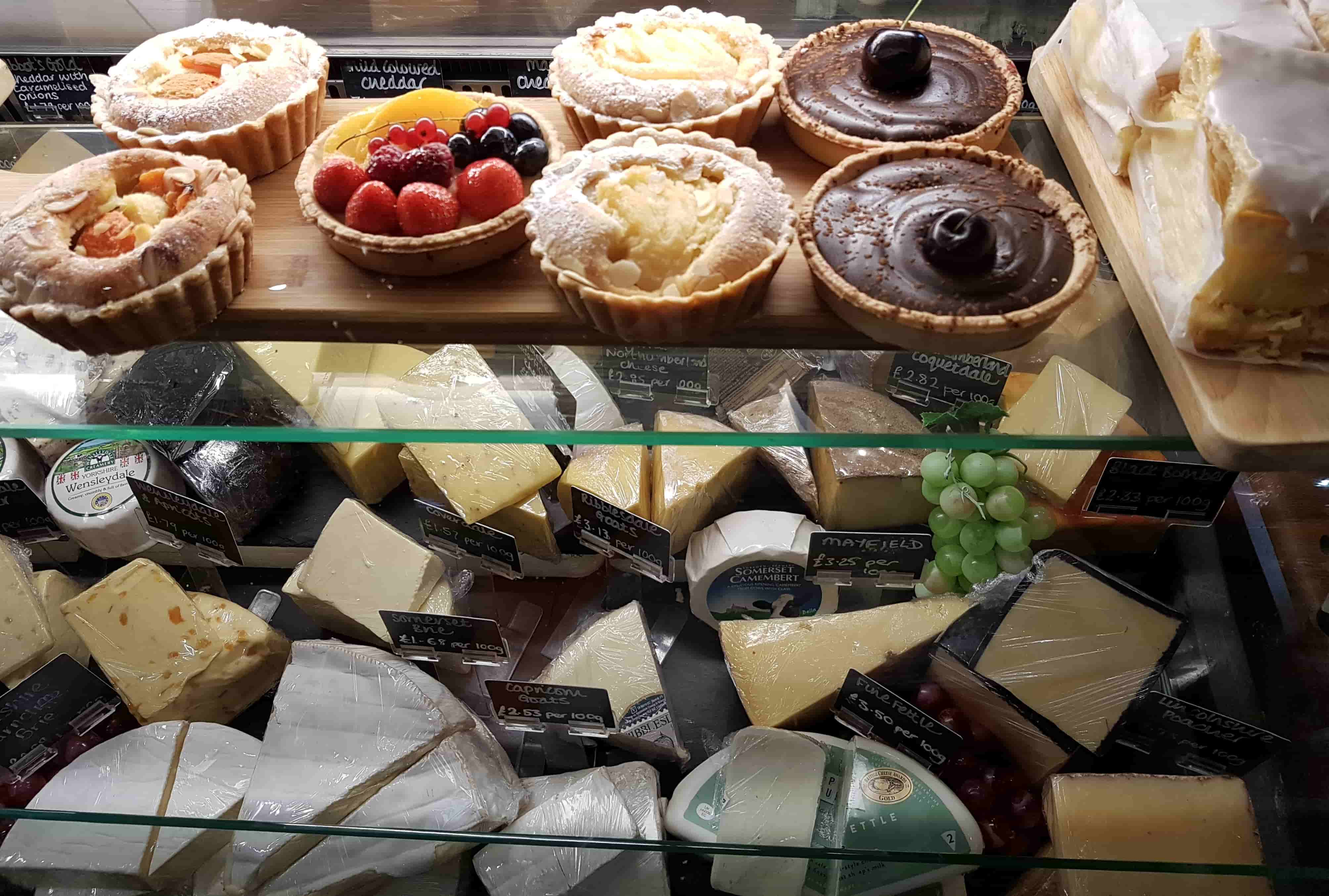 cheese and cakes