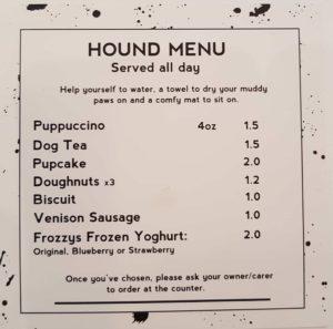 hound menu