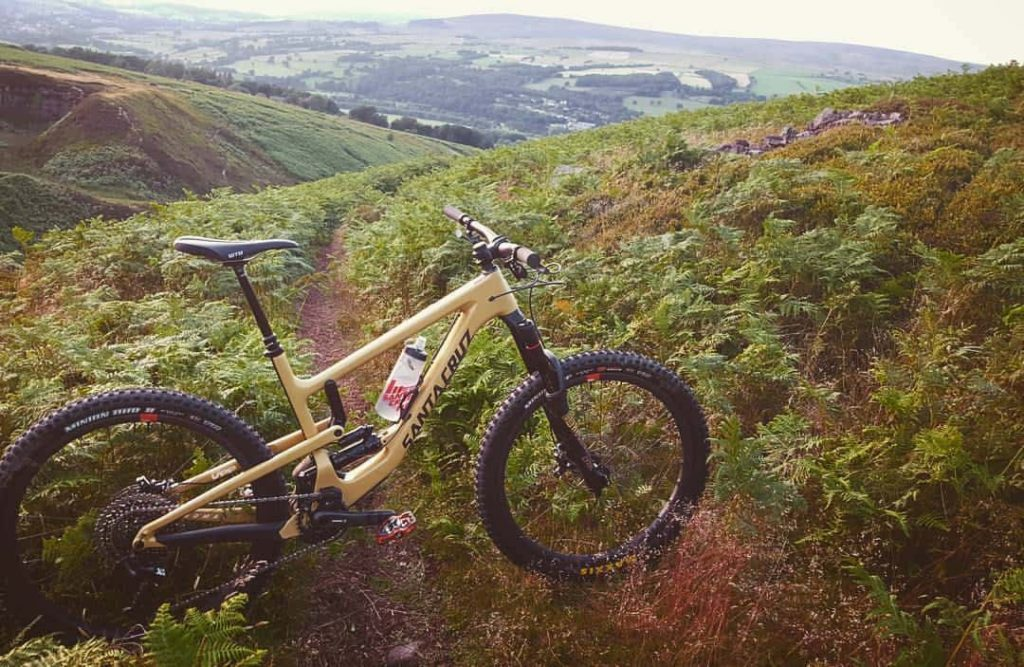 mountain biking ilkley moor
