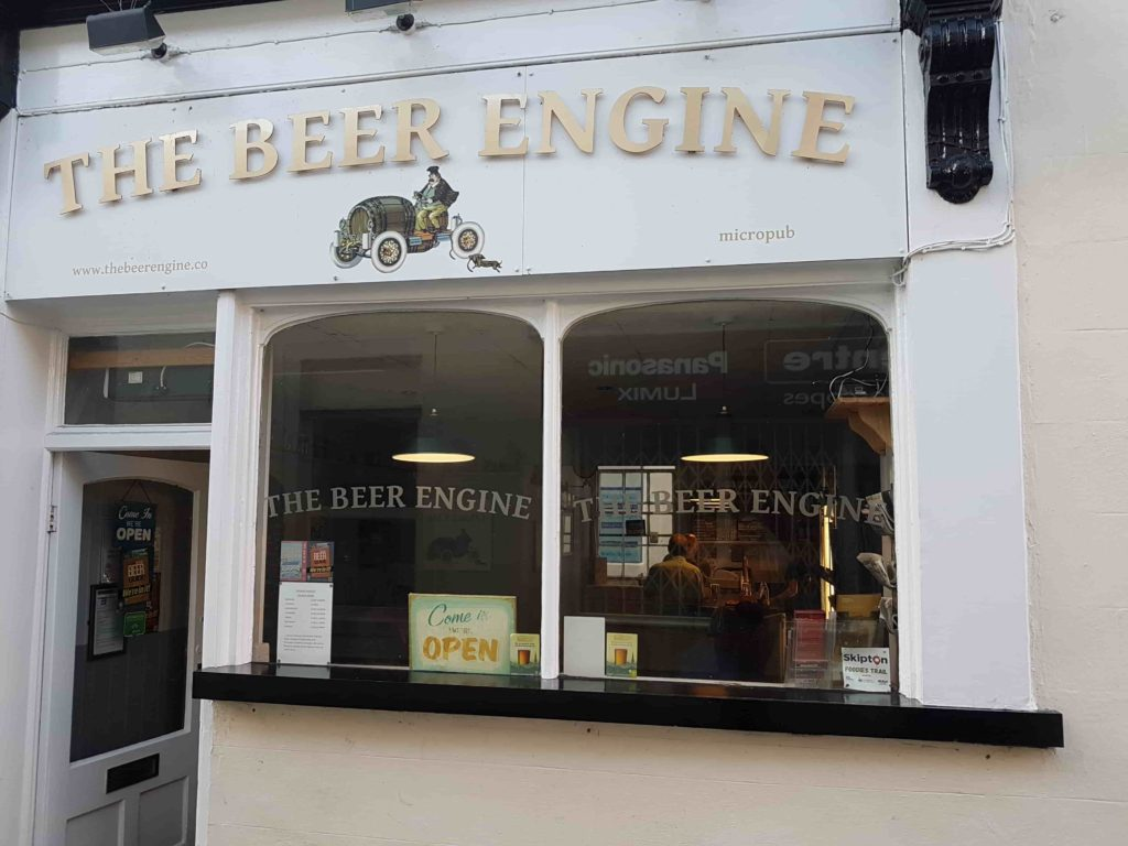 the beer engine skipton