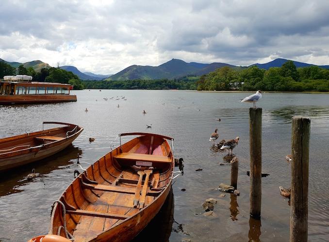 boats Derwentwater