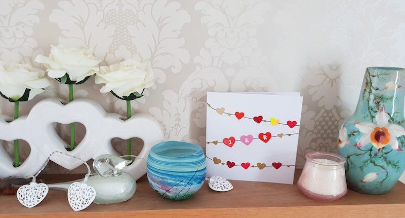 easy anniversary card craft